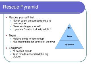 Rescue Pyramid