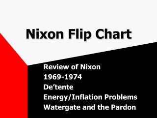Nixon Flip Chart