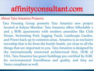 Kalyan Property Builder TATA Housing -91-9999684166 TATA New