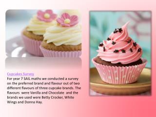 Cupcakes Survey