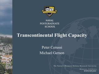 Transcontinental Flight Capacity