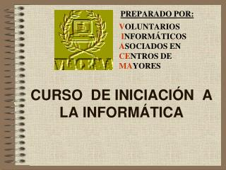 CURSO DE INICIACI