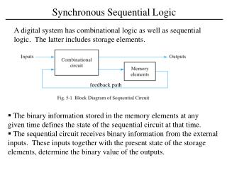 Synchronous Sequential Logic