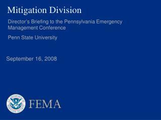 Mitigation Division