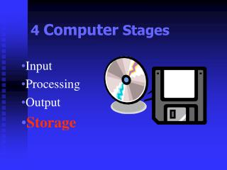 4  Computer  Stages