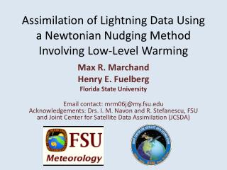 Assimilation of Lightning Data  Using  a  Newtonian Nudging Method Involving Low-Level Warming