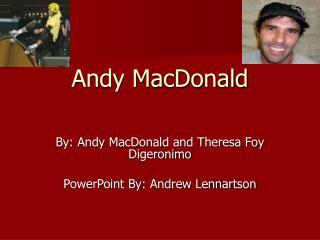 Andy MacDonald