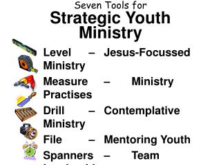Seven Tools for Strategic Youth Ministry