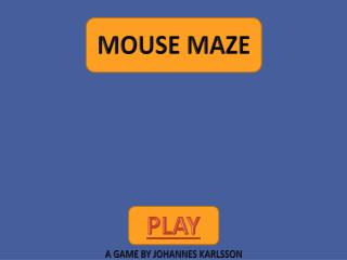 Mouse maze extreme