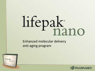 Enhanced molecular delivery  anti-aging program