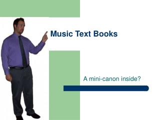 Music Text Books
