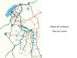 Regi�n de La Mojana: Red vial y fluvial