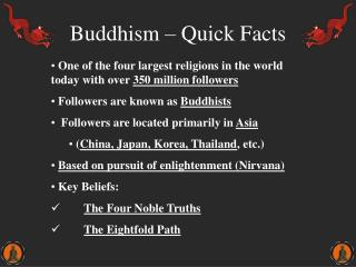 Buddhism – Quick Facts