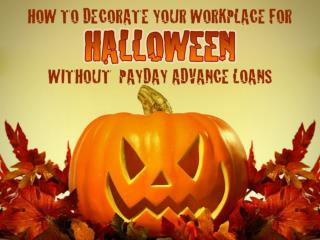 How To Decorate Your Workplace For Halloween