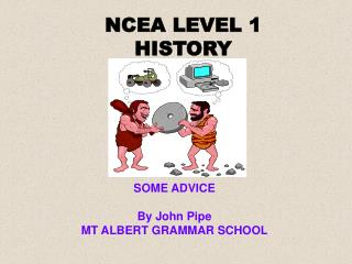 NCEA LEVEL 1 HISTORY