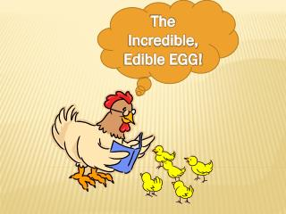 The Incredible, Edible EGG!
