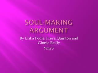 Soul-making argument