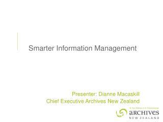 Smarter Information Management