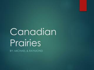 Canadian Prairies