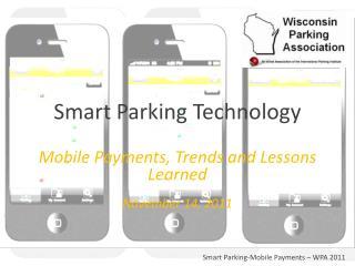 Smart Parking Technology