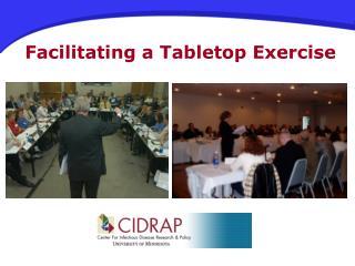 Facilitating a Tabletop Exercise