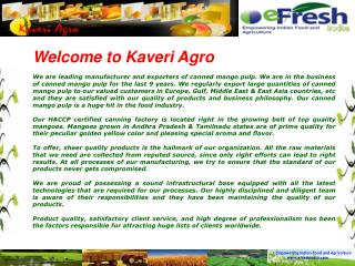 Welcome to Kaveri Agro