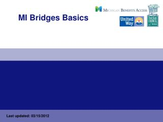 MI Bridges Basics