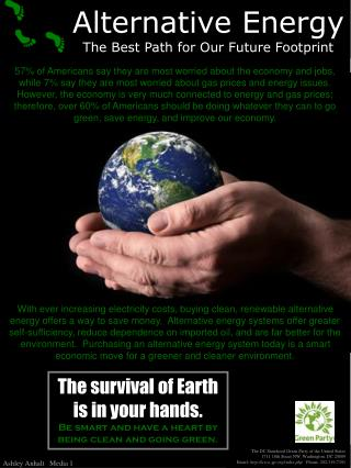 Alternative Energy The Best Path for Our Future Footprint