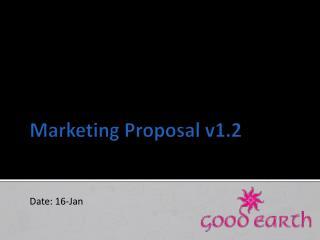Marketing Proposal v1.2