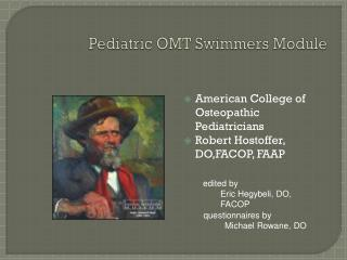 Pediatric OMT Swimmers Module
