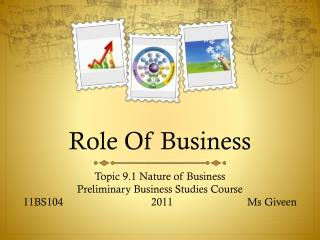 Role Of Business