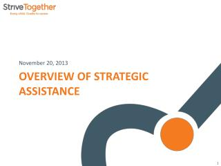 Overview of Strategic Assistance