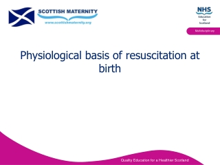 Resuscitation Of Newborn