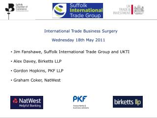 International Trade Business Surgery