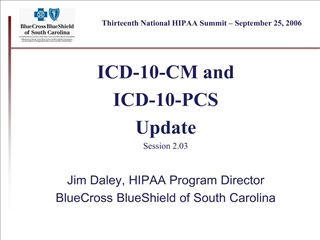 Thirteenth National HIPAA Summit   September 25, 2006