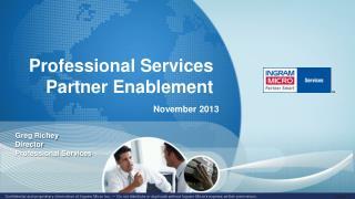 Professional Services   Partner Enablement