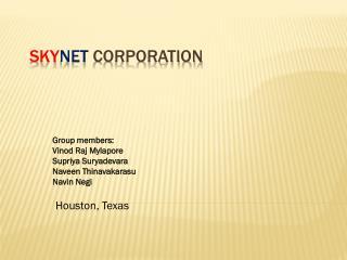 Sky Net  Corporation