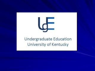 Undergraduate Education  Mission Statement
