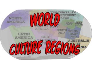 Cultural Regions of the World
