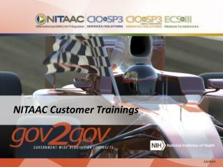 NITAAC Customer Trainings