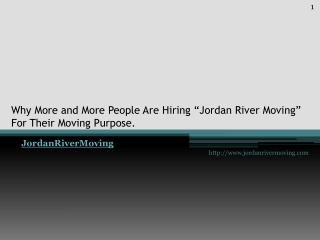 "Why More and More People Are Hiring ""Jordan River Moving"" Fo"