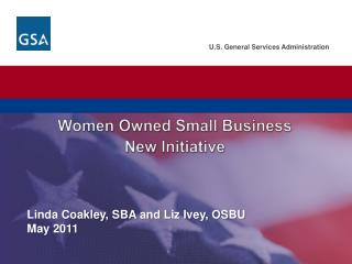 Women  Owned Small Business  New  Initiative