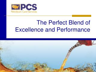 The Perfect Blend of Excellence and Performance