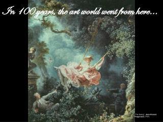"""The Swing"",  Jean-Honoré Fragonard  (1767)"