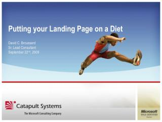 Putting your Landing Page on a Diet