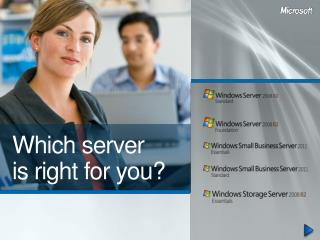 Which server  is right for you?
