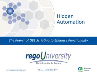Hidden Automation