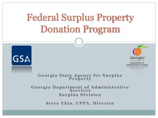 Federal Surplus Property  Donation Program