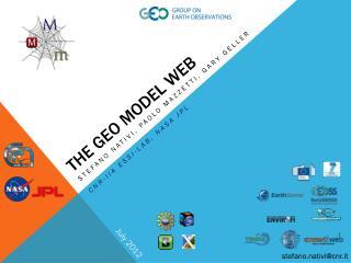 The geo Model web