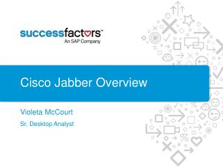 Cisco  Jabber Overview